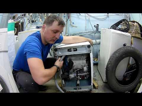 Как поменять шланг слива в стиральной машине lg