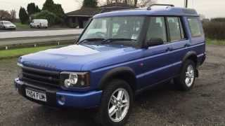 LANDROVER DISCOVERY 2 TD5 2.5 TURBO DIESEL 2004 4WD FOR SALE