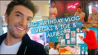 BIG BIRTHDAY VLOG (VEGAS & ZOE AND ALFIES) AD