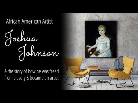 African American Artist Joshua Johnson & his Story