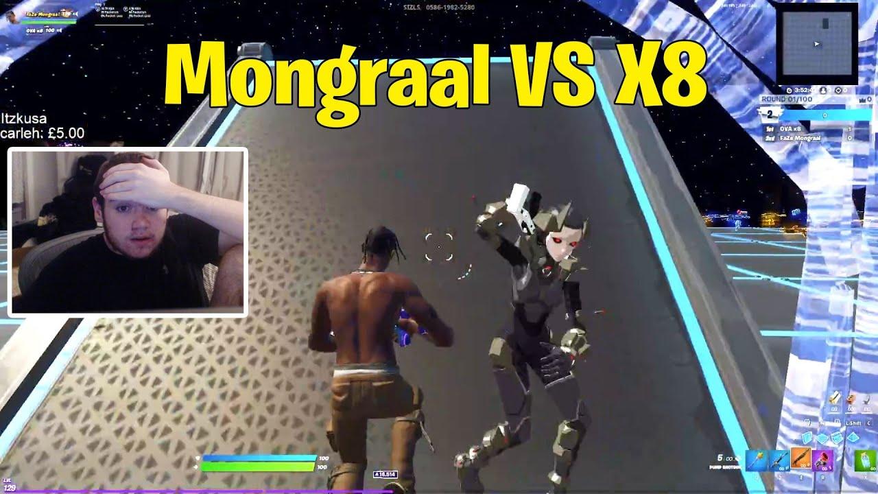 Mongraal VS X8 1v1 Buildfights | Fortnite 1v1
