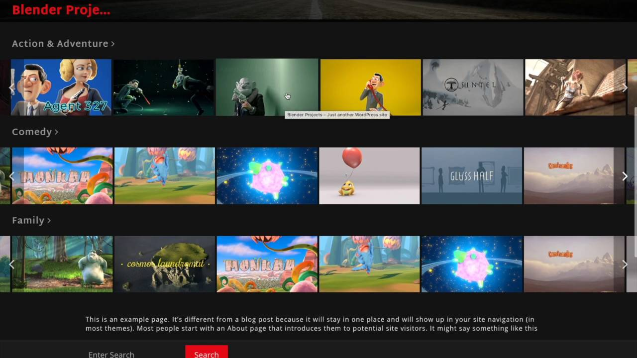 Creating Your Own Netflix - Installing the VS Netflix WordPress Theme