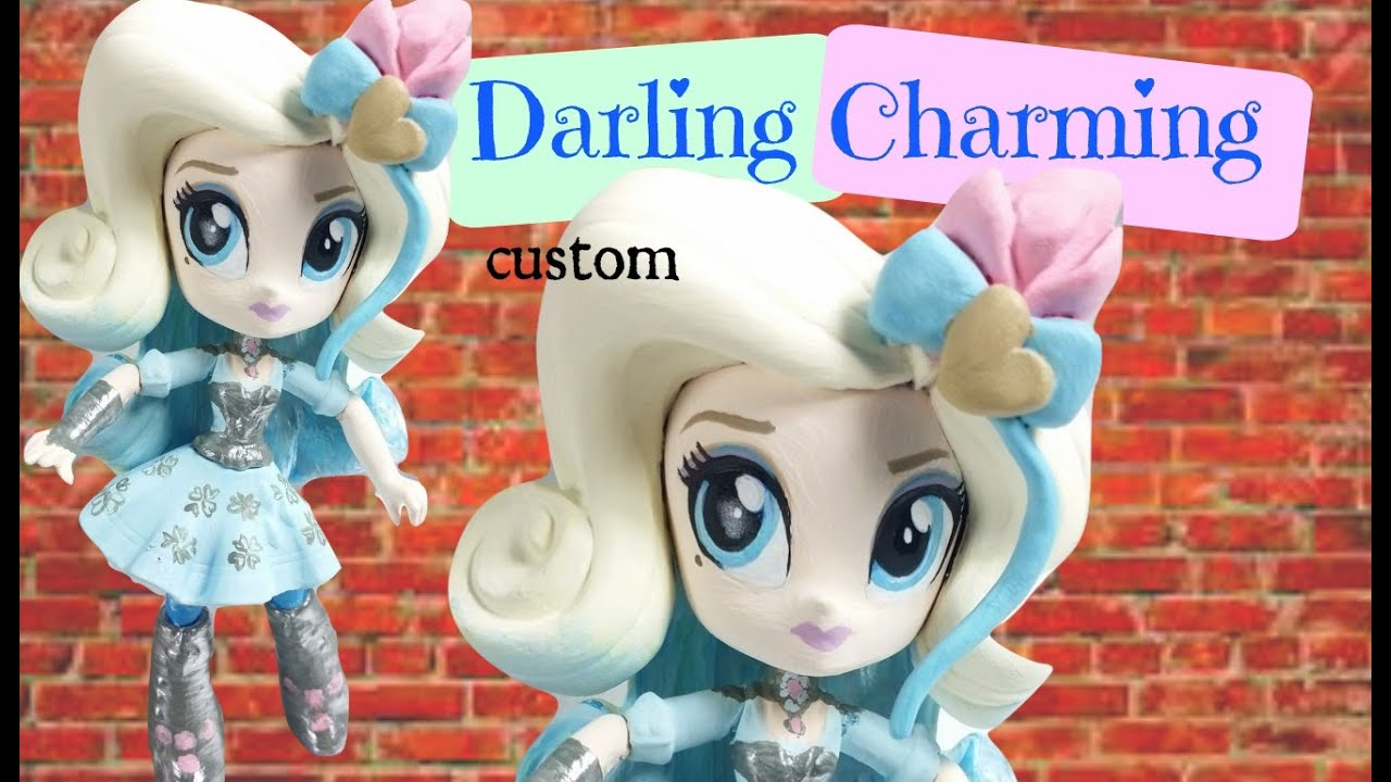 Toys That Start With A : Custom eah darling charming mlp rarity mini doll tutorial