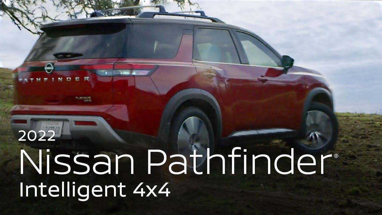 All-New 2022 Nissan Pathfinder SUV Intelligent 4x4