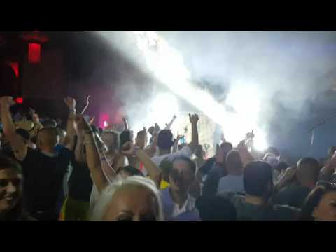Flamingos blackpool pier on pier after party 28th May 2016. Mc Finch