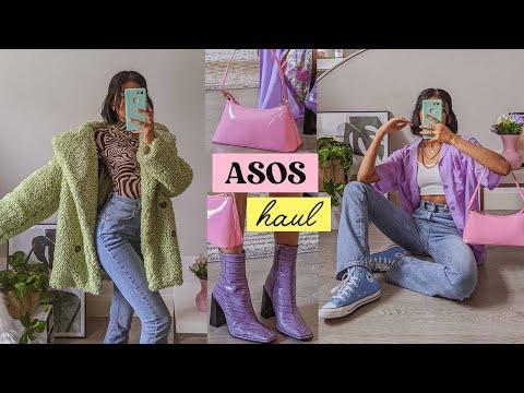 a colourful + aesthetic ASOS haul 🌈