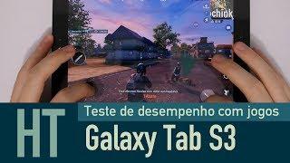 Galaxy Tab S3 - Teste de Desempenho com Jogos
