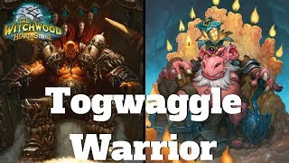 Destroying our Opponent's deck with KING TOGWAGGLE! Hearthstone King Togwaggle Mill Warrior #1