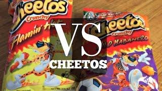 Flamin' Hot VS. Wild Habanero CHEETOS | VERSUS