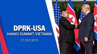 [Live] Press conference on outcomes of second DPRK – USA Summit | Kim - Trump Summit