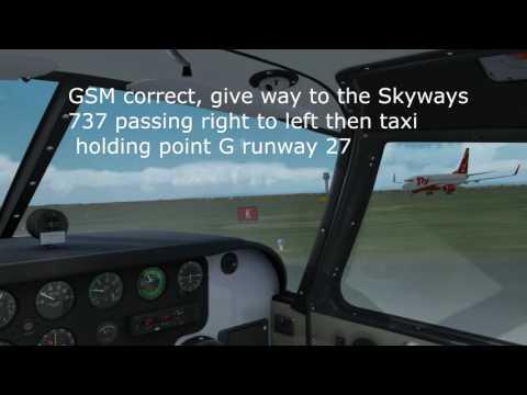 VATSIM UK VFR Pilot Tutorials: Getting started and first circuit