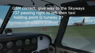VATSIM UK VFR Pilot Tutorials: Getting started and first circuit