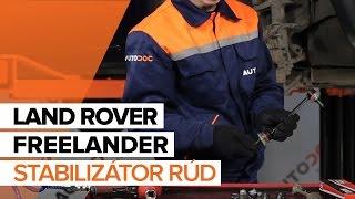 LAND ROVER FREELANDER javítási csináld-magad - videó-útmutatók