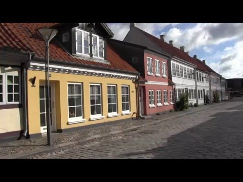 Traveller: Denmark, Odense, area around the H.C. Andersen house