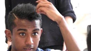 Repeat youtube video Men's Short Hair Tutorial | How To Style & Straighten | Asian Sensation X-factor