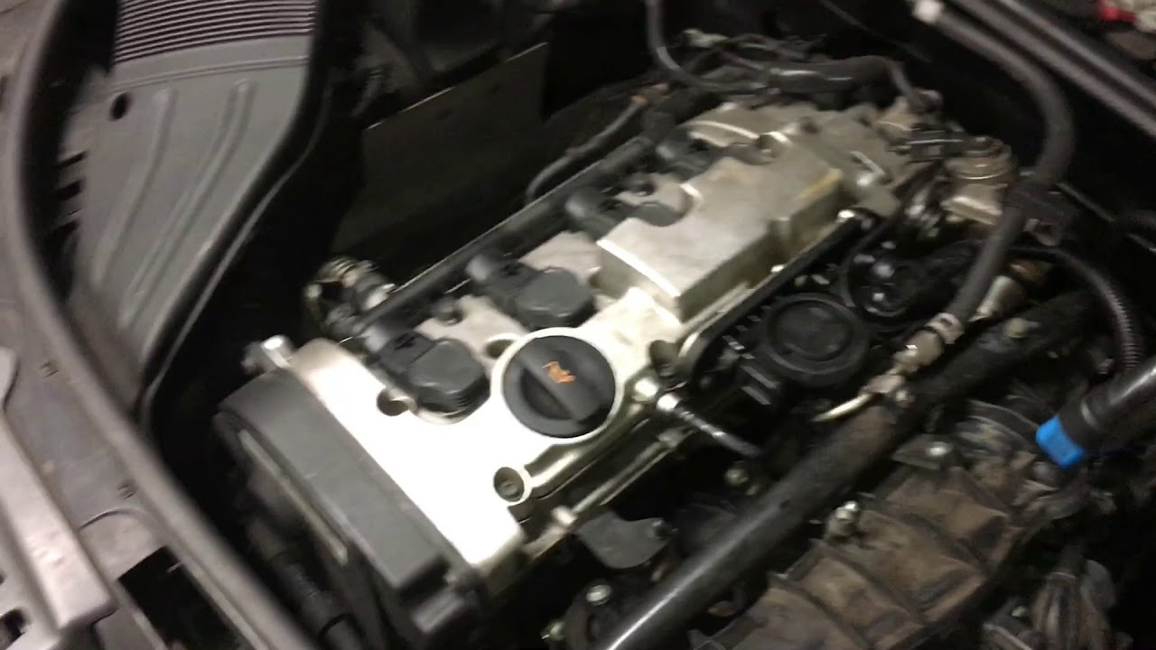 Audi A4 2 0t P0171 System Too Lean P2187 P2279 Youtube