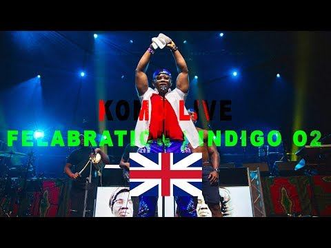 Komo Performing At Indigo At The O2 | Felabration UK