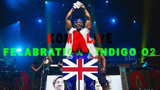 Komo Performing At Felabration with Live Band | Indigo at The O2