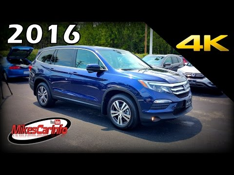 2016 Honda Pilot SUV EX-L w/Nav - Ultimate In-Depth Look in 4K