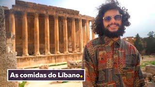 TRADIÇÃO LIBANESA: A COMIDA, A CULTURA E OS DOCES ÁRABES | Viagem Líbano | Mohamad Hindi