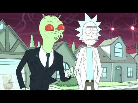 Breezeblocks alt-j (Rick And Morty) AMV