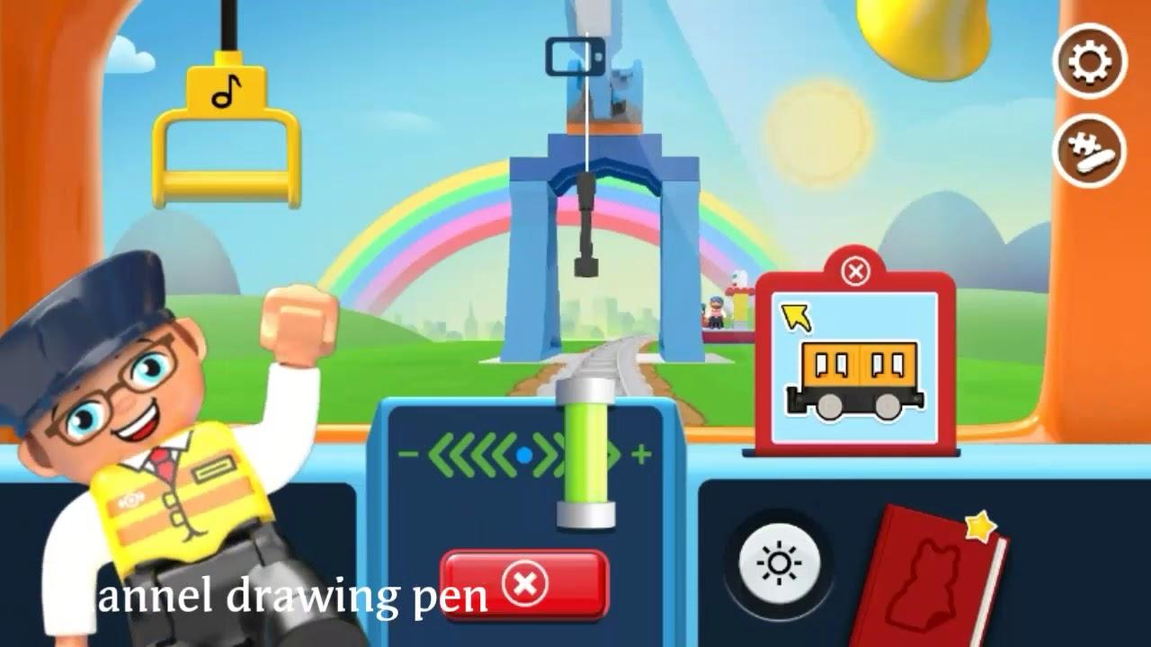 Permainan Kereta Lego Duplo Siap Beraksi # ...