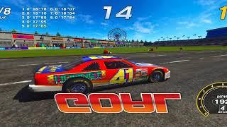 Daytona Championship USA Arcade On TeknoParrot 1.80 full FFB Direct Drive wheel