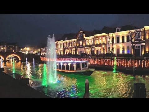ハウステンボス「光の王国」世界最大1,300万球のイルミネーション Kingdom Of Lights At Huis Ten Bosch In Nagasaki,Japan : 4K