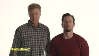 Mark Wahlberg and Will Ferrell announce Irish visit for Daddy's Home 2