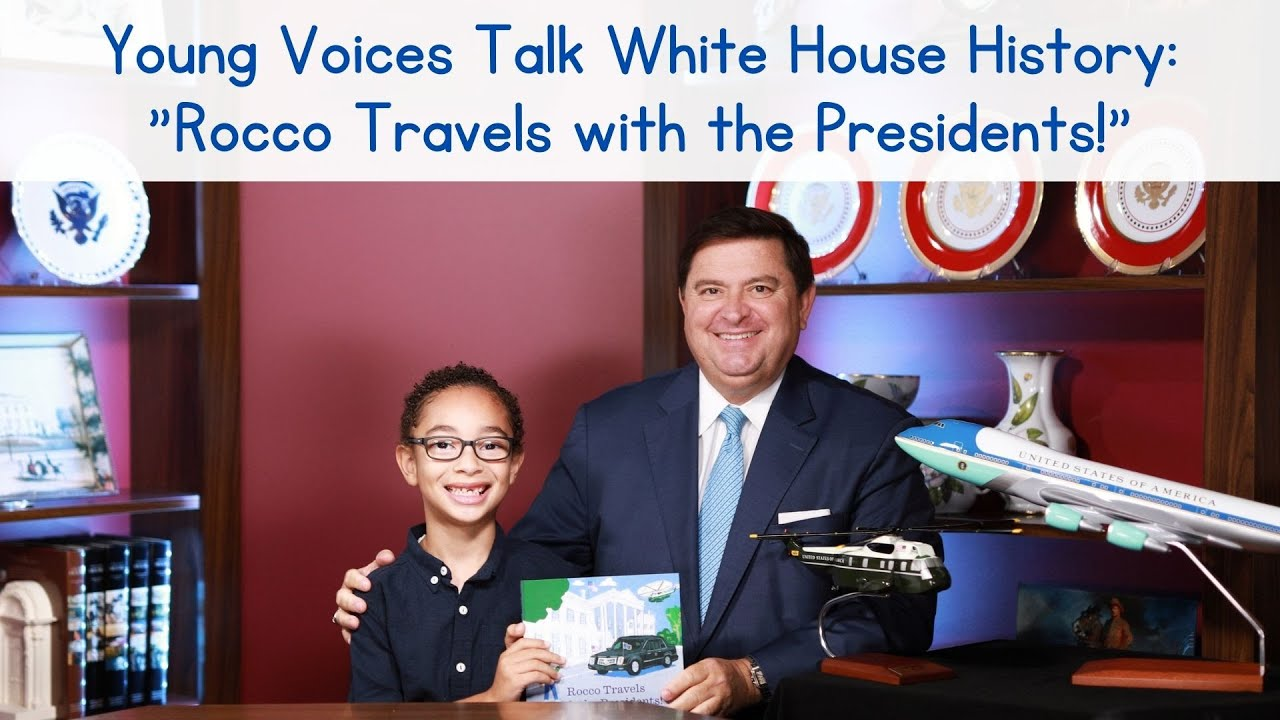 Young Voices Talk White House History: Rocco Travels with the Presidents!