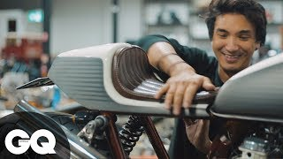 Building Bikes With Wenley Andrews   GQ Shorts   Ep 0003