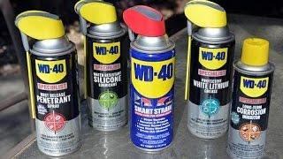 WD- 40(ВД 40) универсальная смазка(применение)
