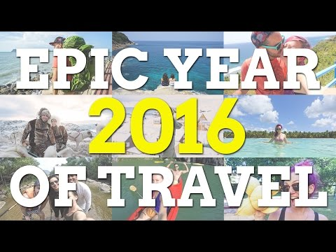 EPIC YEAR of Travel 2016