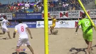 Швейцария - Украина 6:5. Пляжный футбол. Евролига 2013. Суперфинал. Группа В (голы).
