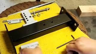 Hướng dẫn chế tạo giá đỡ để mài dụng cụ