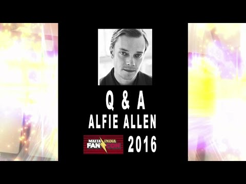 Alfie Allen @ Malta India Fan Con 2016