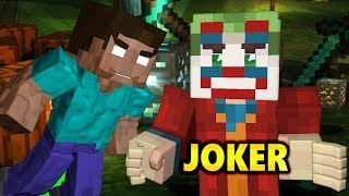 JOKER vs MONSTER SCHOOL CHALLENGE Ft. TINY Bees  (official) 2019 Funny Minecraft Animation Movie