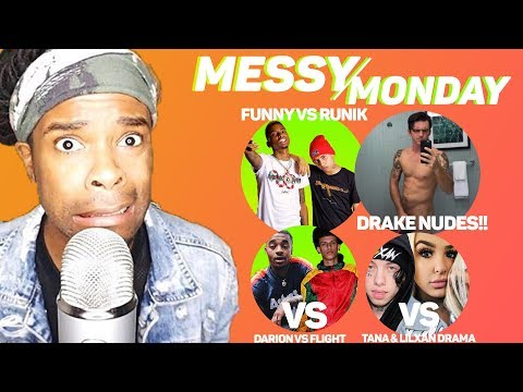 DRAMA ALERT! ! ! FlightReacts vs Darion, FunnyMike vs Runik, #SecretGuest & More | MessyMonday