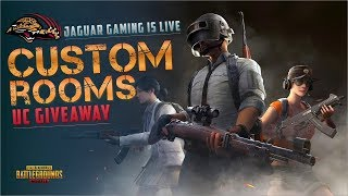 🔴PUBG MOBILE Live Streaming Custom Rooms With UC Giveaways