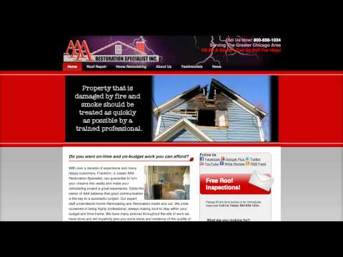 AAA Restoration Specialist LLC, specializes in home remodeling in the Chicago area.