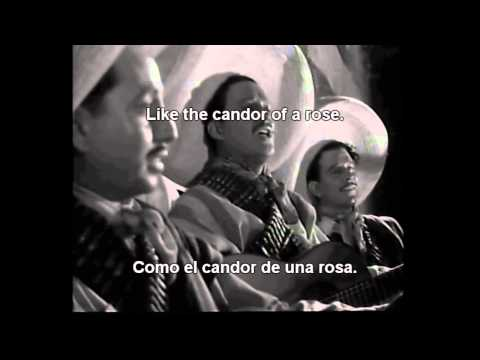 Malagueña Salerosa (ENAMORADA  1946) - ENGLISH SUBTITLES