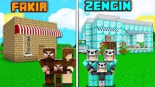 FAKİR AİLE DÜKKAN VS ZENGİN AİLE DÜKKAN! 😱 - Minecraft