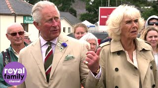 Prince Charles and Camilla attend 100th Royal Welsh Show