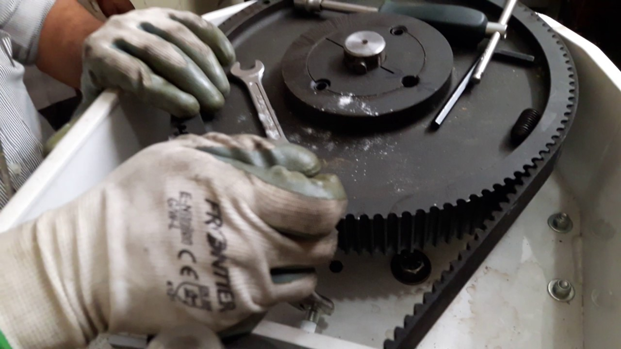 how to tighten tensioner pulley