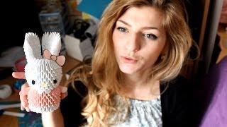 3D Hello Kitty из бумаги или Что подарить маме на 8 марта