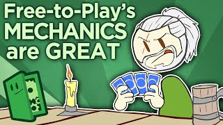 Free-to-Play's MECHANICS are Great - The Mini-Game Revolution - Extra Credits(Free-to-Play mechanics bring persistence and progress to simple game systems, only to slam players into a frustrating paywall. But replace real money with ..., 2016-08-31T17:00:17.000Z)