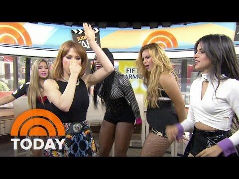 Fifth Harmony, Ellie Kemper Booty Pop  TODAY