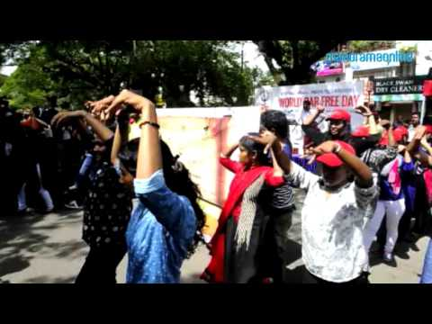 World Car Free Day at Cochin   Students perform Flash Mob   Manorama Online