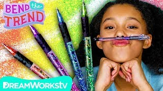 Floating Glitter Pen + Other Sparkly DIYs! | BEND THE TREND