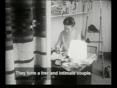 Simone de Beauvoir & Sartre  1967